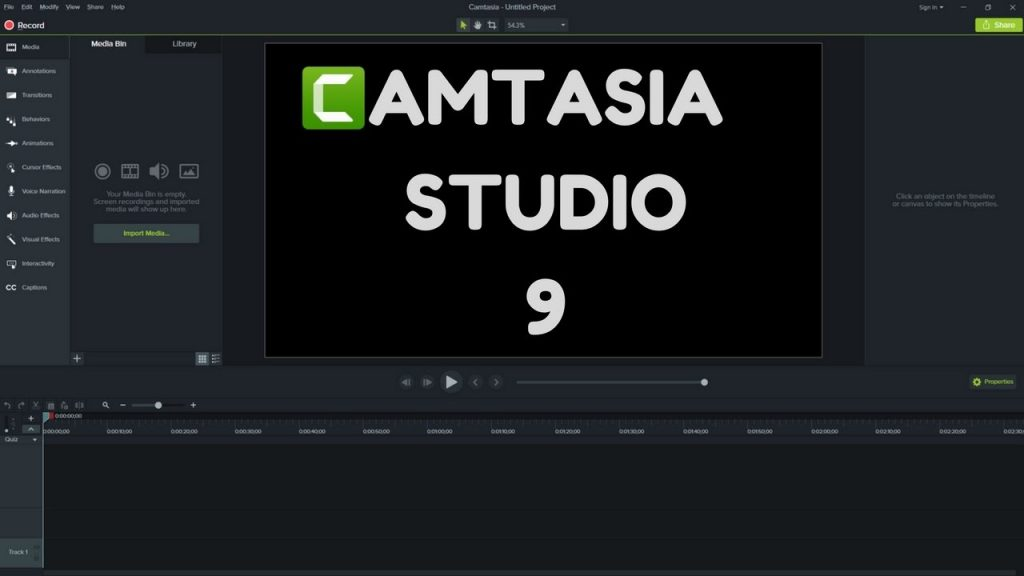 Camtasia Studio 9.0.5 Crack with Product Key 2019 Full Version