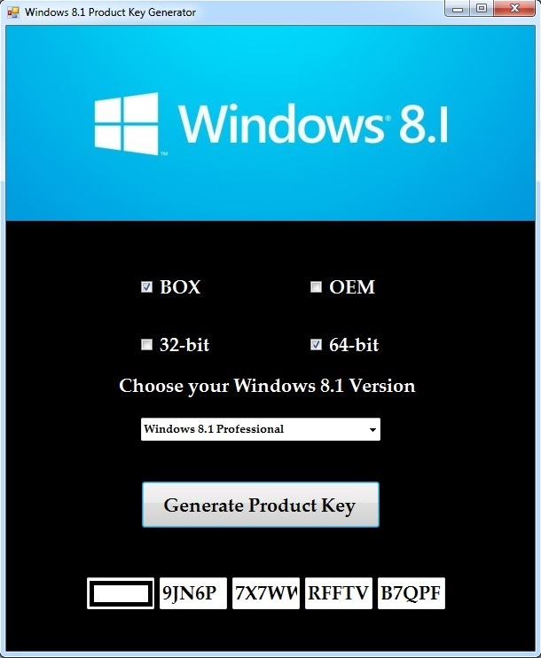clave de windows 8.1 pro 32 bits