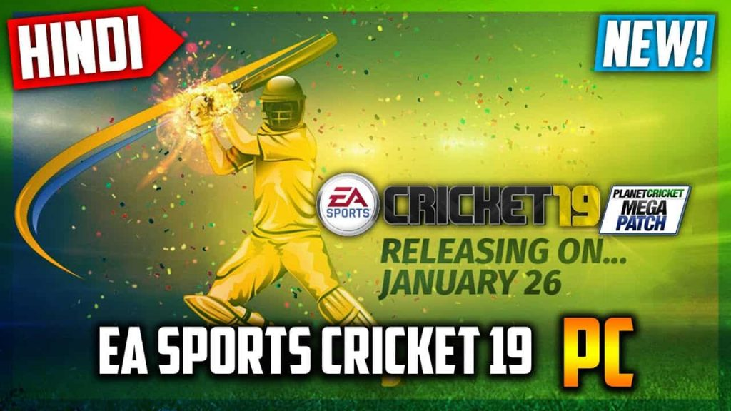 EA Sports Cricket 2019 Crack Patch Full Version PC Game