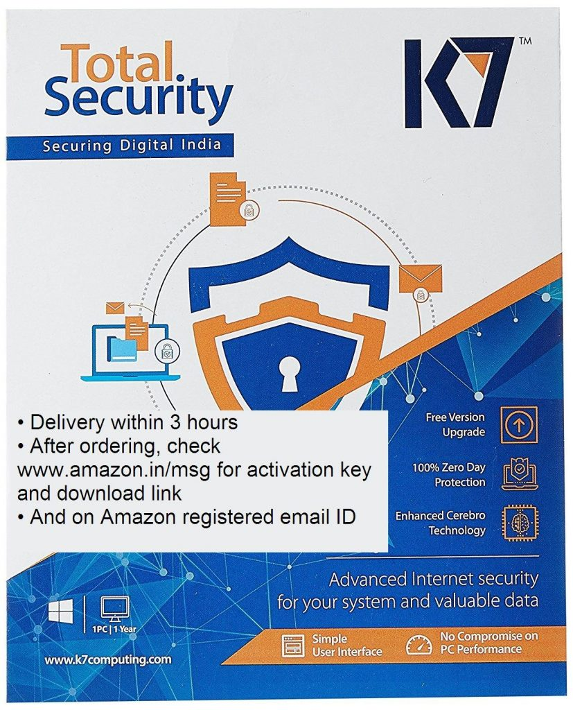 K7 Total Security 2020 Crack + Activation Key 16.0.0.109 Latest Version