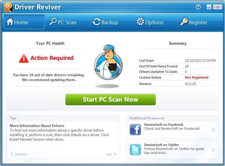 ReviverSoft Driver Reviver 5.33.1.4 Crack + Key 2020 Torrent