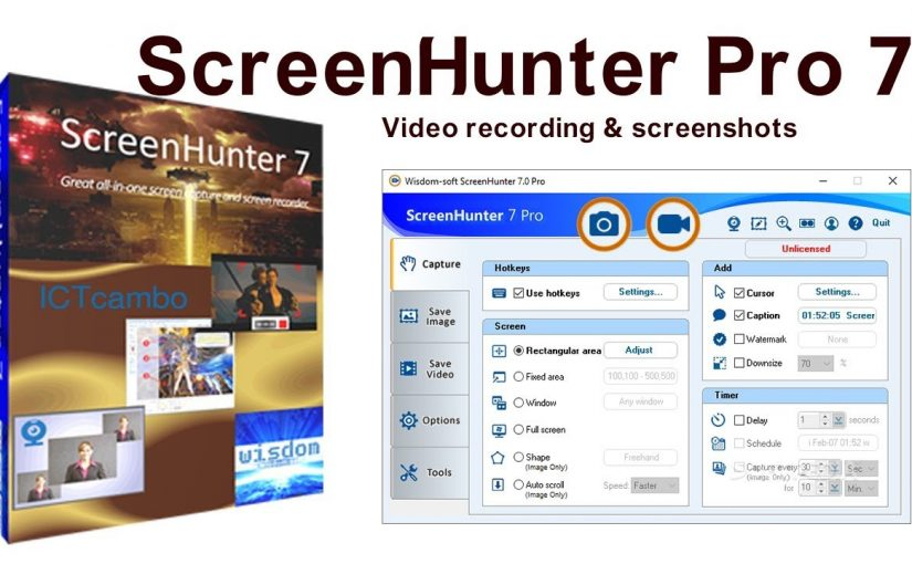 ScreenHunter Pro Crack 7.0.1145 with License Key 2021 Torrent