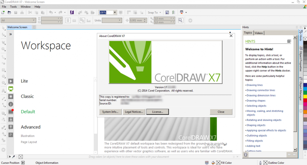 Corel Draw X7 Crack 2020 with Keygen Torrent 32-64 Bit Free