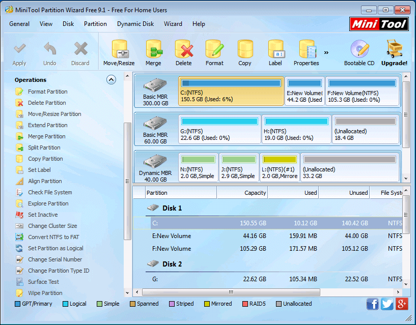 MiniTool Partition Wizard Crack Pro 12 Plus Serial Key 2020
